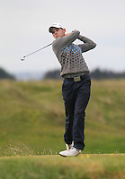 Brian Casey (Headfort)<br /> during R1 of the East of Ireland Amateur Open championship 2013 at Co Louth Golf club, 1/6/13<br /> Picture:  Thos Caffrey / www.golffile.ie