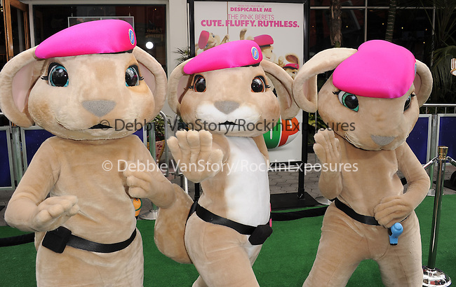 Bunnies at The Universal Pictures' World Premiere of HOP held at Universal City Walk in Universal City, California on March 27,2011                                                                               © 2010 Hollywood Press Agency