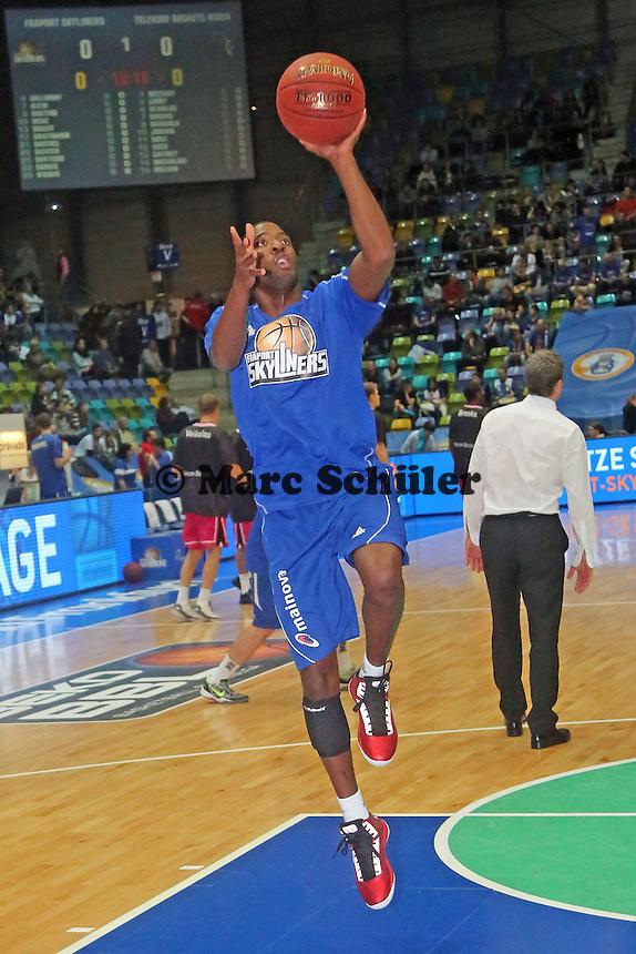 Neuzugang Jarred Dubois (Skyliners) - Fraport Skyliners vs. Telekom Baskets Bonn, Fraport Arena Frankfurt