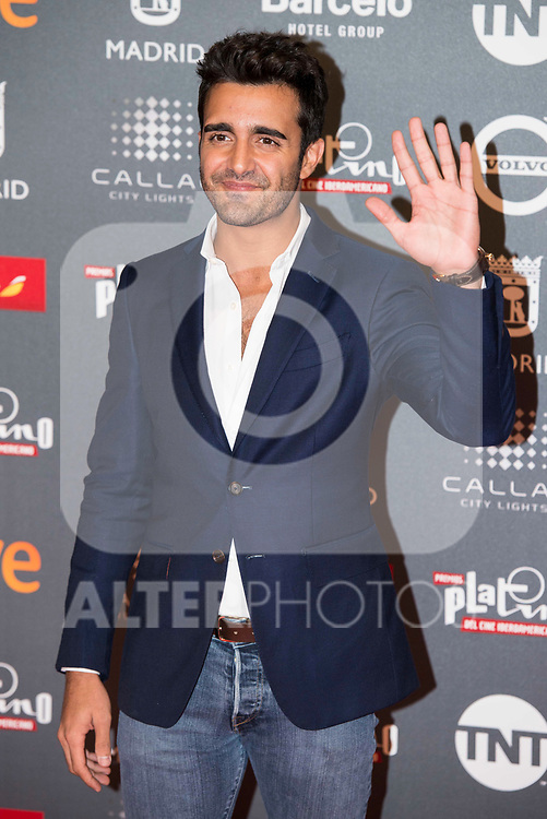 Adrian Nunez attends to welcome party photocall of Platino Awards 2017 at Callao Cinemas in Madrid, July 20, 2017. Spain.<br /> (ALTERPHOTOS/BorjaB.Hojas)