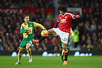 Norwich's Gary O'Neil and Marouane Fellaini of Manchester United - Manchester United vs Norwich City - Barclays Premier League - Old Trafford - Manchester - 19/12/2015 Pic Philip Oldham/SportImage