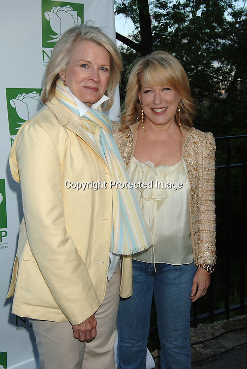 Candice Bergen  and Bette Midler..at  Bette Midler's New York Restoration Project  5th Annual Picnic on May 22, 2006 at Highbridge Park...Robin Platzer, Twin Images..
