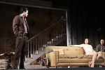 As The World Turns Trent Dawson stars with Felicity Jones & Sebastian Naskaris in Harold Pinter's The Homecoming at Centerstage, Baltimore, Maryland. Dress Rehearsal - January 27, 2011. (Photos by Sue Coflin/Max Photos)