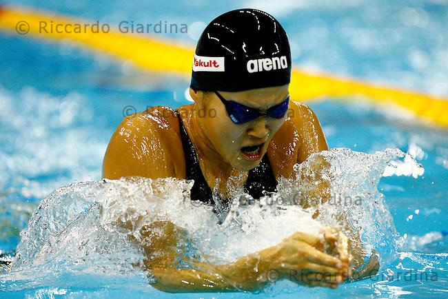KANETO Rie (JPN), qualificazioni 200m rana