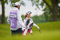 Nuria Iturrioz (ESP) looks over her second shot on 11 during the round 1 of the KPMG Women's PGA Championship Hazeltine National, Chaska, Minnesota, USA. 6/20/2019.<br /> Picture: Golffile | Ken Murray<br /> <br /> <br /> All photo usage must carry mandatory copyright credit (© Golffile | Ken Murray)
