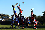 NELSON, NEW ZEALAND - JULY 15: Club Rugby Semi Final - Waimea Old Boys v Wanderers at Brightwater Domain on July 15, 2017 in Nelson, New Zealand. (Photo by: Chris Symes/Shuttersport Limited)