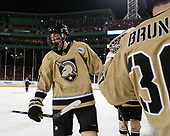 Dominic Franco (Army - 11) - The Bentley University Falcons defeated the Army West Point Black Knights 3-1 (EN) on Thursday, January 5, 2017, at Fenway Park in Boston, Massachusetts.The Bentley University Falcons defeated the Army West Point Black Knights 3-1 (EN) on Thursday, January 5, 2017, at Fenway Park in Boston, Massachusetts.