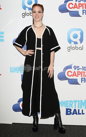 Jess Glynne at Capital&Otilde;s Summertime Ball with Vodafone at Wembley Stadium, London on June 11th 2016<br /> CAP/ROS<br /> &copy;Steve Ross/Capital Pictures<br /> Jess Glynne at Capital&rsquo;s Summertime Ball with Vodafone at Wembley Stadium, London on June 11th 2016<br /> CAP/ROS<br /> &copy;Steve Ross/Capital Pictures /MediaPunch ***NORTH AND SOUTH AMERIcAS ONLY***