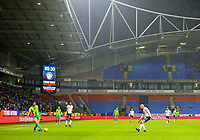 West Bromwich Albion's Ahmed Hegazy plays a pass during the second half<br /> <br /> Photographer Alex Dodd/CameraSport<br /> <br /> The EFL Sky Bet Championship - Bolton Wanderers v West Bromwich Albion - Monday 21st January 2019 - University of Bolton Stadium - Bolton<br /> <br /> World Copyright © 2019 CameraSport. All rights reserved. 43 Linden Ave. Countesthorpe. Leicester. England. LE8 5PG - Tel: +44 (0) 116 277 4147 - admin@camerasport.com - www.camerasport.com