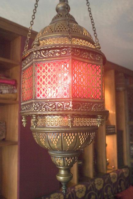 Lantern, Kazan Restaurant, Belgrovia, London, Great Britain, Europe