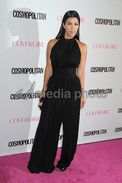 12 October 2015 - Hollywood, California - Kourtney Kardashian. Cosmopolitan 50th Birthday Celebration held at Ysabel. Photo Credit: Byron Purvis/AdMedia