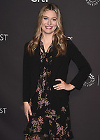 """HOLLYWOOD, CA - MARCH 21:  Zoe Perry at PaleyFest 2018 - """"Young Sheldon"""" at the Dolby Theatre on March 21, 2018 in Hollywood, California. (Photo by Scott KirklandPictureGroup)"""