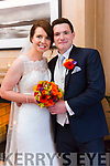 Aileen O'Keeffe and Alan Hickey were married at the Church of the immaculate conception Currow by Fr. Pat O'Donnell on Saturday 2nd September 2017 with a reception at Ballygarry house hotel