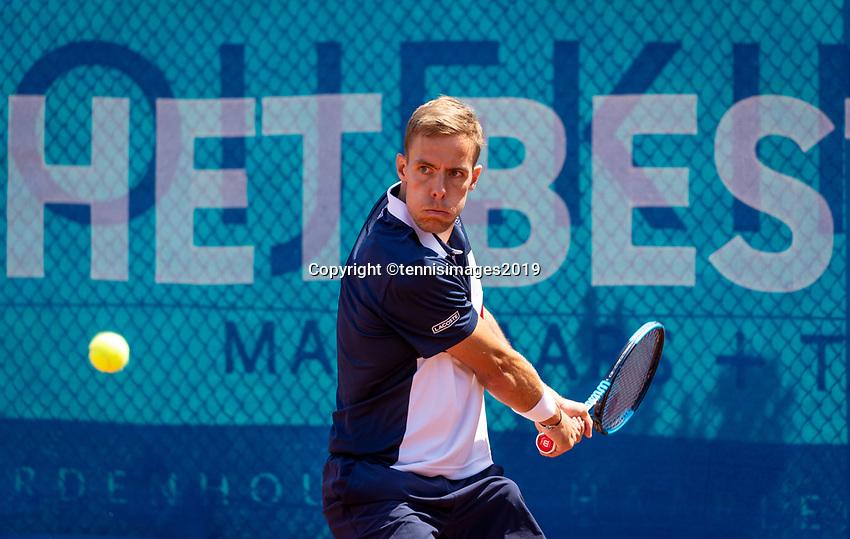 Zandvoort, Netherlands, 9 June, 2019, Tennis, Play-Offs Competition, Scott Griekspoor (NED)<br /> Photo: Henk Koster/tennisimages.com