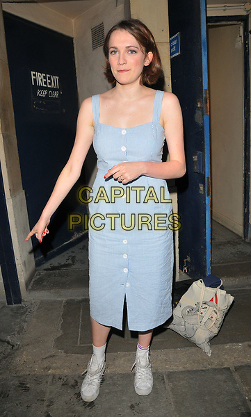 Charlotte Ritchie at the &quot;The Philanthropist&quot; theatre cast stage door departures, Trafalgar Studios, Whitehall, London, England, UK, on Saturday 27 May 2017.<br /> CAP/CAN<br /> &copy;CAN/Capital Pictures
