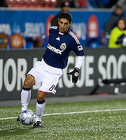 22 April 2009: Chivas USA defender Mariano Trujillo #8 in action at BMO Field in a MLS game between Chivas USA and Toronto FC.Toronto FC won 1-0. .