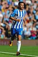 Davy Propper of Brighton & Hove Albion (24)  during the EPL - Premier League match between Brighton and Hove Albion and Manchester City at the American Express Community Stadium, Brighton and Hove, England on 12 August 2017. Photo by Edward Thomas / PRiME Media Images.