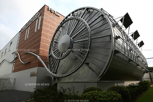 August 2, 2010 - Tokyo, Japan - The Cosmic Photon Streams is seen at Tamagawa University, in Tokyo, Japan, on August 2, 2010. The full research facility, named Future Science Technology Center, has been operational since March 2010.