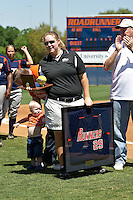 SAN ANTONIO, TX - APRIL 5, 2008: Retirement of Jessica Rogers #29 Jersey at Roadrunner Field. (Photo by Jeff Huehn)