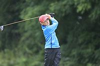 Adam Harrington (Cork) during the Connacht U14 Boys Amateur Open, Ballinasloe Golf Club, Ballinasloe, Galway,  Ireland. 10/07/2019<br /> Picture: Golffile | Fran Caffrey<br /> <br /> <br /> All photo usage must carry mandatory copyright credit (© Golffile | Fran Caffrey)