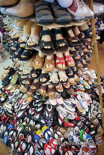 Shoes at Phsar Nath Market