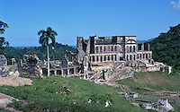 Ruins of the Citadelle Henri Christophe near Port-Au-Prince, Haiti, 1981.  (Photo by Brian Cleary/www.bcpix.com)