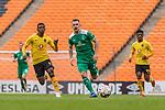 06.01.2019, FNB Stadion/Soccer City, Nasrec, Johannesburg, RSA, FSP, SV Werder Bremen (GER) vs Kaizer Chiefs (ZA)<br /> <br /> im Bild / picture shows <br /> Arohasina Andrianarimanana (Kaizer Chiefs #06), Johannes Eggestein (Werder Bremen #24), Dumisani Zuma (Kaizer Chiefs #28), <br /> <br /> Foto &copy; nordphoto / Ewert