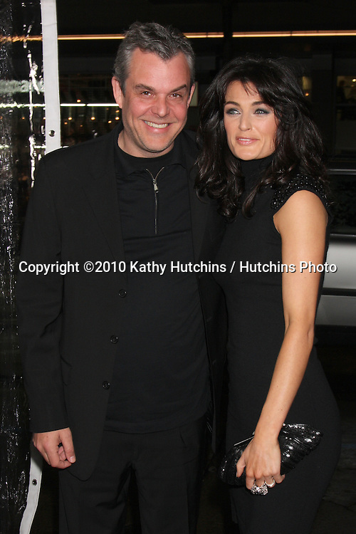 "Danny Huston & guest.arriving at the premiere of the ""Edge of Darkness"".Grauman's Chinese Theater.Los Angeles, CA.January 26, 2010.©2010 Kathy Hutchins / Hutchins Photo...."