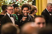 Musician Lenny Kravitz attends at the Kennedy Center Honors reception at the White House on December 2, 2012 in Washington, DC. The Kennedy Center Honors recognized seven individuals - Buddy Guy, Dustin Hoffman, David Letterman, Natalia Makarova, John Paul Jones, Jimmy Page, and Robert Plant - for their lifetime contributions to American culture through the performing arts. .Credit: Brendan Hoffman / Pool via CNP