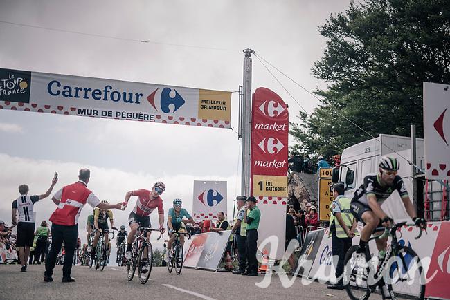 Andr&eacute; Greipel (DEU/Lotto-Soudal) grabbing a last bidon up the Mur de P&eacute;gu&egrave;re (Cat1/1375m/9.3km/7.9%)<br /> <br /> 104th Tour de France 2017<br /> Stage 13 - Saint-Girons &rsaquo; Foix (100km)