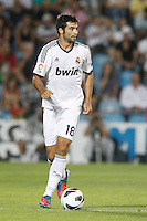 26.08.2012 SPAIN -  La Liga 12/13 Matchday 2th  match played between Getafe C.F. vs Real Madrid CF (0-0) at Alfonso Perez stadium. The picture show Raul Albiol Tortajada (Spanish defender of Real Madrid)