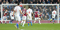 Crystal Palace's Cheikhou Kouyate had his first half goal ruled out for off-side following VAR review<br /> <br /> Photographer Rich Linley/CameraSport<br /> <br /> The Premier League - Burnley v Crystal Palace - Saturday 30th November 2019 - Turf Moor - Burnley<br /> <br /> World Copyright © 2019 CameraSport. All rights reserved. 43 Linden Ave. Countesthorpe. Leicester. England. LE8 5PG - Tel: +44 (0) 116 277 4147 - admin@camerasport.com - www.camerasport.com