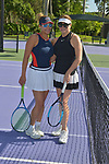 WESTON, FL - DECEMBER 08: Ninoska Malik and Elizabeth Signore playing at Midtown Athletic Club Weston on December 08, 2018 in Weston, Florida. ( Photo by Johnny Louis / jlnphotography.com )