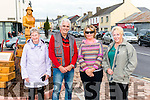 Maureen Crowle, David Rolt, Mary Griffin and Mary Rolt pictured at the unveiling of the Lady statue in Killorglin last Saturday.