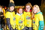 taking part in the Darkness into Light walk in Tralee on Saturday morning last