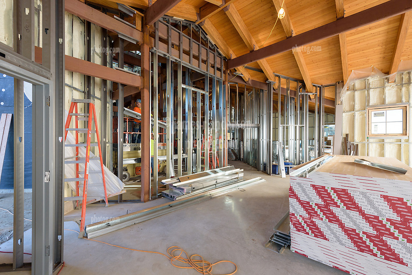 Meigs Point Nature Center at Hammonasset Beach State Park  <br /> Connecticut State Project No: BI-T-601<br /> Architect: Northeast Collaborative Architects  Contractor: Secondino & Son<br /> James R Anderson Photography New Haven CT photog.com<br /> Date of Photograph: 4 December 2015<br /> Camera View: 20