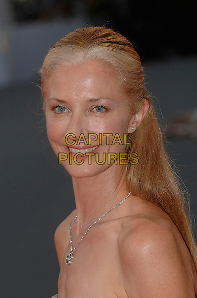 "JOELY RICHARDSON.Opening Ceremonyat the ""Atonement"" premiere at the 64th Venice Film Festival (La Biennale di Venezia), Venice, Italy..August 29th, 2007.headshot portrait necklace .Ref: CAP/PL.©Phil Loftus/Capital Pictures"