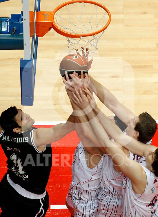 Madrid.- (10/02/2011).-LXXV COPA DE S.M. EL REY.FASE FINAL.Caja Laboral-Bizkaia Bilbao Basket .Mavroeidis...©Alex Cid-Fuentes/AlfaquiFotografia