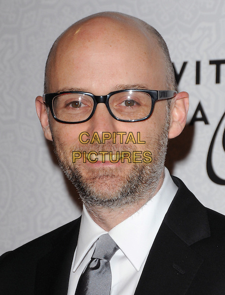 "MOBY (Richard Melville Hall).Art of Elysium 3rd Annual Black Tie charity gala '""Heaven"" held at 990 Wilshire Blvd in Beverly Hills, California, USA, .January 16th 2010 .headshot portrait glasses black white stubble beard facial hair.CAP/RKE/DVS .©DVS/RockinExposures/Capital Pictures"