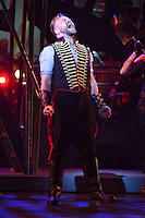 "Daniel Bedingfield<br /> in the musical of ""The War of the Worlds"" at the Dominion Theatre, London.<br /> <br /> <br /> ©Ash Knotek  D3083 12/02/2016"