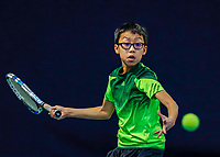 Hilversum, Netherlands, December 3, 2017, Winter Youth Circuit Masters, 12,14,and 16, years, Jessy Tan (NED)<br /> Photo: Tennisimages/Henk Koster