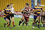 Niva Ta'auso looks to break through the Bay of Plenty defence. Counties Manukau Steelers vs Bay of Plenty Steamers warm up game played at Mt Smart Stadium on 14th of July 2006. Counties Manukau won 25 - 20.