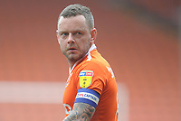 Blackpool's Jay Spearing<br /> <br /> Photographer Kevin Barnes/CameraSport<br /> <br /> The EFL Sky Bet League One - Blackpool v Oxford United - Saturday 23rd February 2019 - Bloomfield Road - Blackpool<br /> <br /> World Copyright © 2019 CameraSport. All rights reserved. 43 Linden Ave. Countesthorpe. Leicester. England. LE8 5PG - Tel: +44 (0) 116 277 4147 - admin@camerasport.com - www.camerasport.com