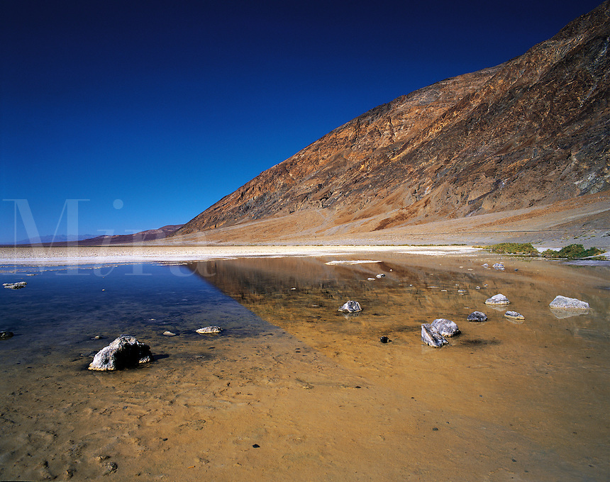 Badwater Creek, Death Valley, California, US