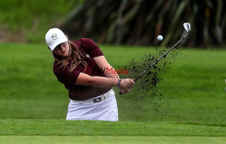 Ela Grimwood during the Augusta Funds Management Taranaki Open, Ngamotu Golf Course, New Plymouth, Friday 30 September 2016. Photo: Simon Watts/www.bwmedia.co.nz