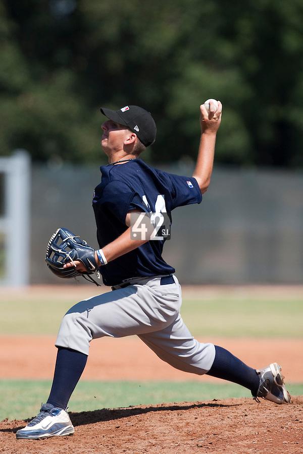 Baseball - MLB European Academy - Tirrenia (Italy) - 20/08/2009 - Niels Harteveld (Netherlands)