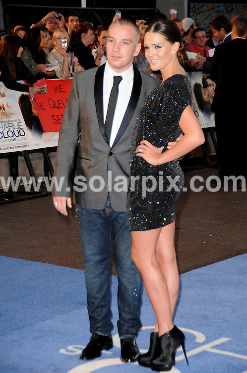 **ALL ROUND PICTURES FROM SOLARPIX.COM**                                             **WORLDWIDE SYNDICATION RIGHTS**                                                                                  Caption: The Death And Life Of Charlie St Cloud UK film premiere at the Empire Leicester Square, London, UK. 16 September 2010                                                                         This pic: Danielle Lloyd and Jamie O'Hara                                                                               JOB REF: 12106 MSR       DATE: 16_09_2010                                                           **MUST CREDIT SOLARPIX.COM OR DOUBLE FEE WILL BE CHARGED**                                                                      **MUST AGREE FEE BEFORE ONLINE USAGE**                               **CALL US ON: +34 952 811 768 or LOW RATE FROM UK 0844 617 7637**