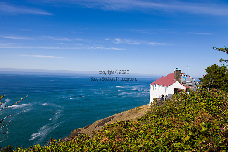 The lookout at Cape Foulweather, Oregon