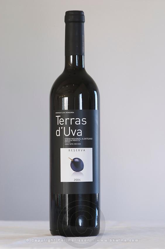 terras d'uva reserva 2004 herdade da mingorra alentejo portugal