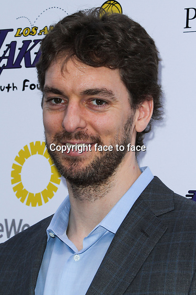 Pau Gasol  at Lakers Casino Night Fundraiser Benefiting The Lakers Youth Foundation held at Club Nokia on March 10, 2013 in Los Angeles, California...Credit: MediaPunch/face to face..- Germany, Austria, Switzerland, Eastern Europe, Australia, UK, USA, Taiwan, Singapore, China, Malaysia and Thailand rights only -